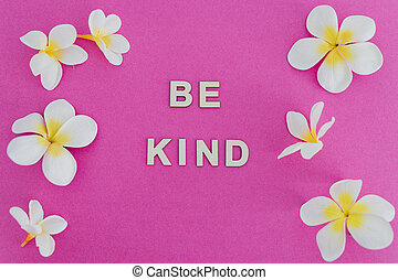 ser, flores, mensaje, behaviours, rodeado, plano de fondo, ...