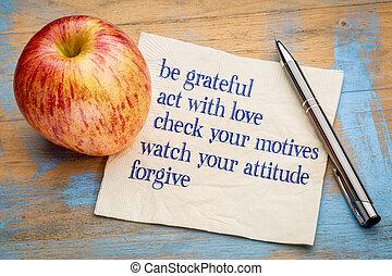 ser, grato, -, inspirational, frases