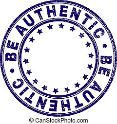 ser, grunge, selo, selo, textured, autêntico, redondo