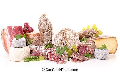 ser, mięso, dobrany