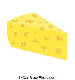 ser, na, niejaki, białe tło