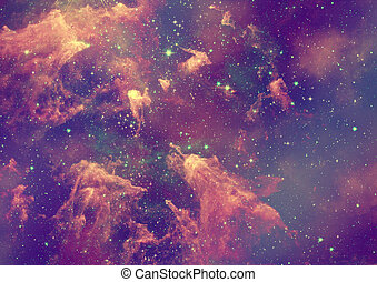 ser, nebulosa, brillado