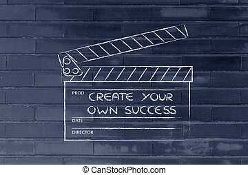 ser, poseer, g, director, sueños, encontrar, vida, su, ...