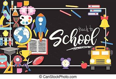 ser, usado, illustration., diagrama, workflow, opções, cima, número, esquema, infographics., vetorial, livros, lata, passo, bandeira, teia, educação, design.