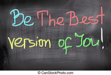 ser, usted, concepto, versión, mejor