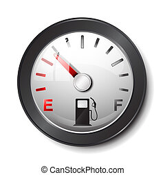 serbatoio carburante, icona