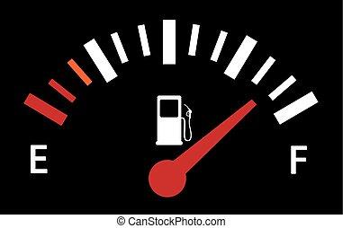 serbatoio carburante, illustrazione