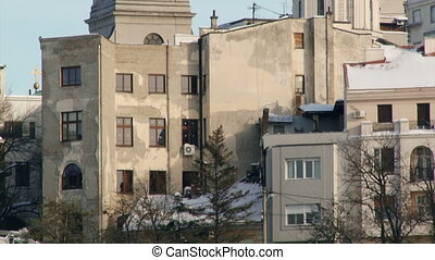 Serbia, Belgrade, buildings