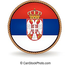 Serbia Seal - Flag seal of Serbia.