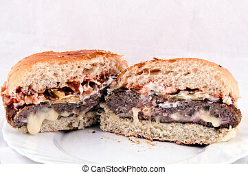 Serbian burger