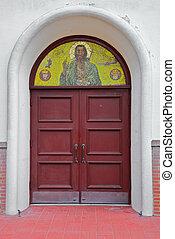 Serbian Chruch doors