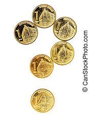 Serbian dinar coins