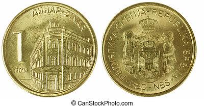 serbian, dinar