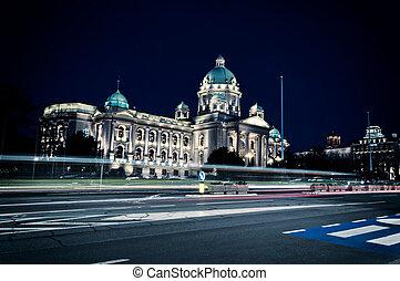 Serbian Parliament - Building of Serbian National Parliament...
