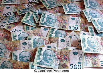 serbian, valuta, -, dinar, sedlar