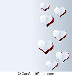 serca, cięty, valentine