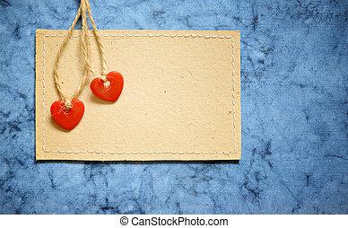 serca, dwa, karta