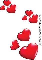 serca, przelotny