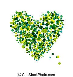 serce, abstrakcyjny zamiar, formułować, twój