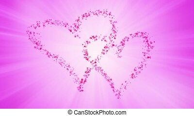 serce, cząstki