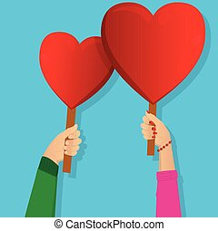 serce, dzierżawa, signs., siła robocza