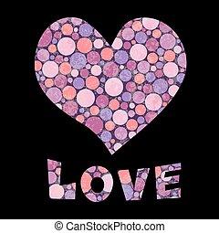 serce, i, miłość, tekst