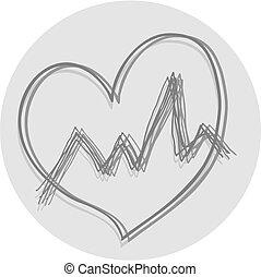 serce, ikona