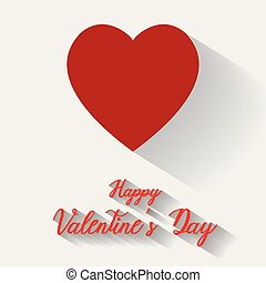 serce, ilustracja, eps, valentine, tło, wektor, rząd, biały, dzień, szczęśliwy