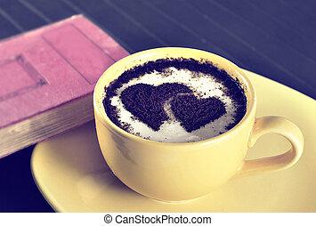 serce, kawa