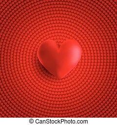 serce, list miłosny, 1812, tło, 3d, dzień