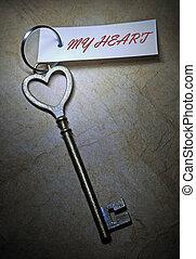 serce, mój, klucz