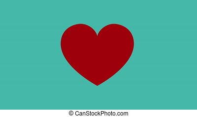 serce, medyczny, ożywienie, puls, kardiologia