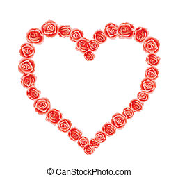 serce, od, miłość