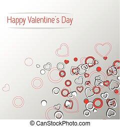 serce, odrobina, valentines dzień, projektować