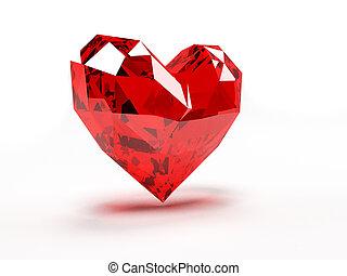 serce, rubin