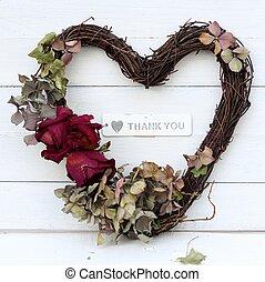 serce, ty, odczuwany, dziękować