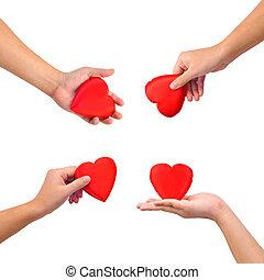 serce, zbiór, siła robocza