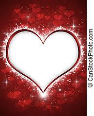 serce, zima, valentine