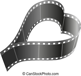 sercowa forma, szpula, film