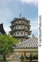 Serene Chinese Japanese Gardens