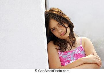 Serene girl