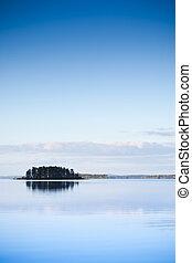 serene island