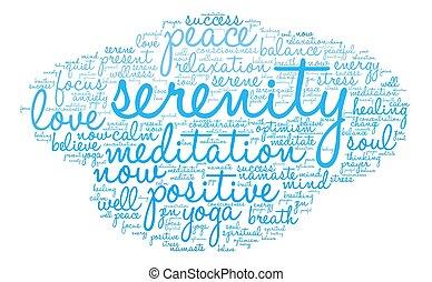 Serenity Word Cloud