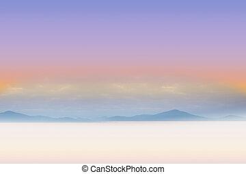 sereno, paisagem