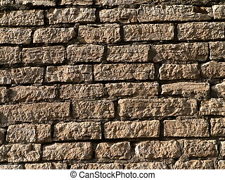 brickwork of the ancient wall 2