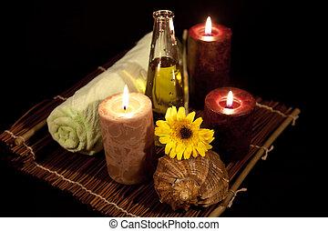 serie, 2, terapia, aroma