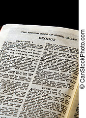 serie, biblia, éxodo