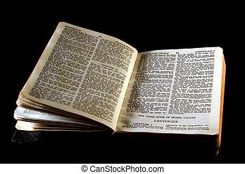 serie, biblia, leviticus