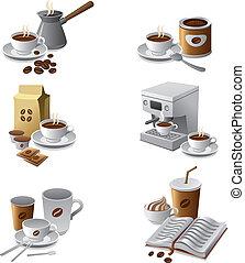 serie caffè, icona