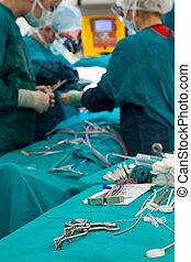 serie, chirurgico, 3